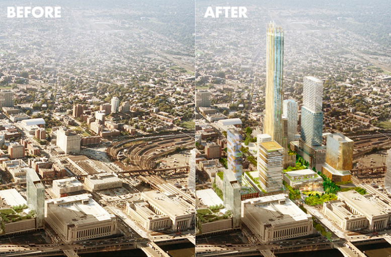 Drexel Partners With Brandywine Realty Trust On Visionary Schuylkill Yards Project Phillyvoice