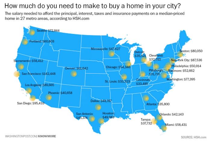 Where Does Philadelphia Rank For Homebuyers PhillyVoice - Philadelphia on a us map