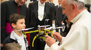 Pope Francis and Drones