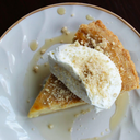 Maple Custard Pie from The Little Bird