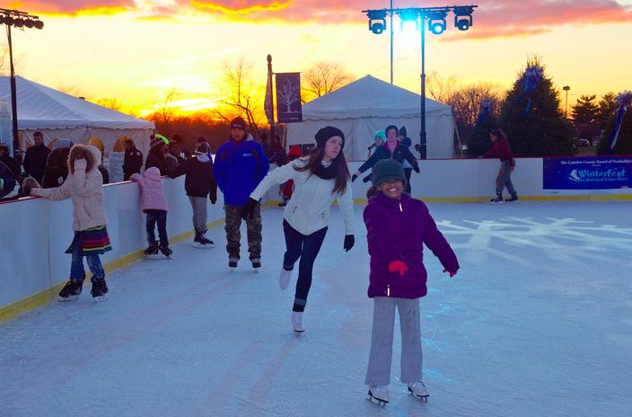 Cooper River Park Ice Skating