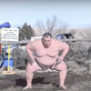 Sumo Wrestler Challenge Video