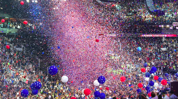 Hillary accepts nomination