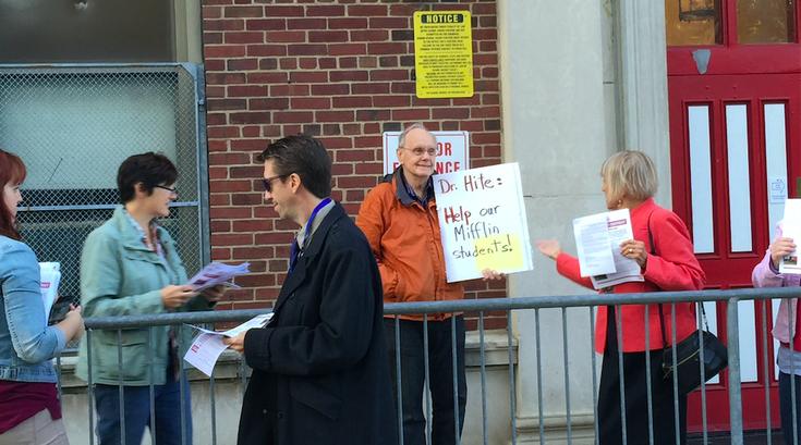 Mifflin Protest