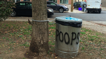 Dog Poop Trash Can