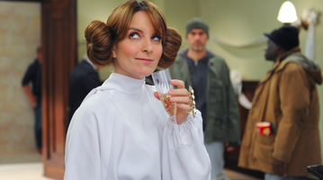 Tina Fey as Carrie Fisher