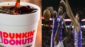 Sixers and Dunkin' Donuts