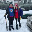 Roller Derby shoveling