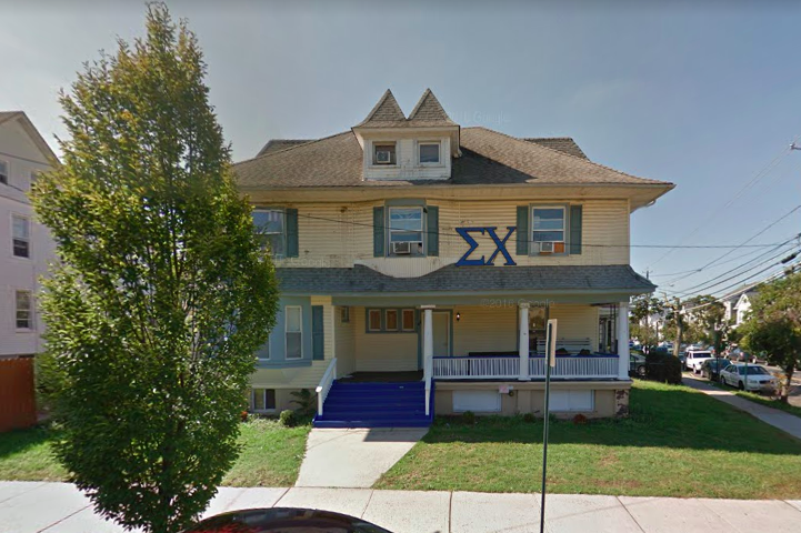 Sigma Chi fraternity house - Rutgers
