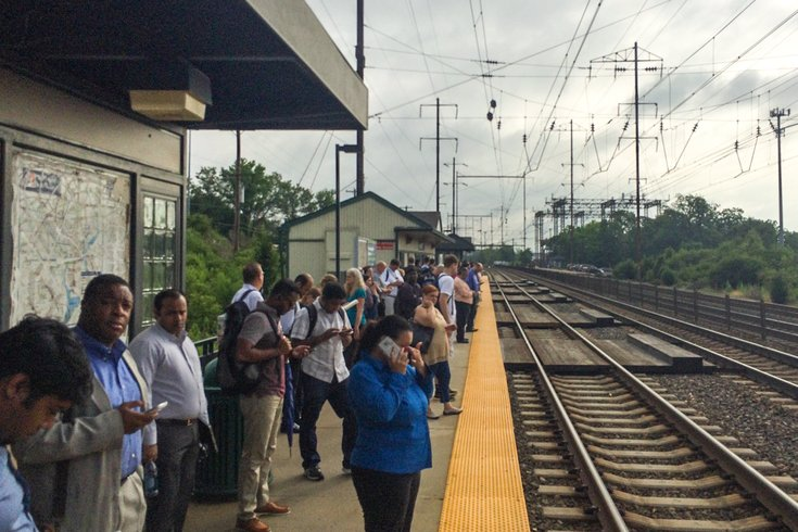 Does the SEPTA rail schedule change on holidays?