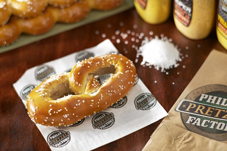 Philly Pretzel Factory Single Pretzel