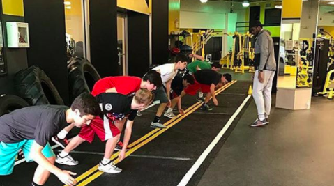 sports clinic at SWEAT Fitness