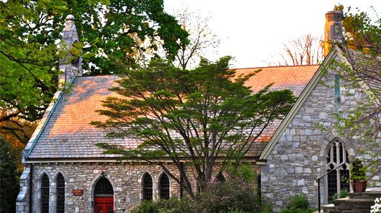 St. Paul's Episcopal Church in Chestnut Hill