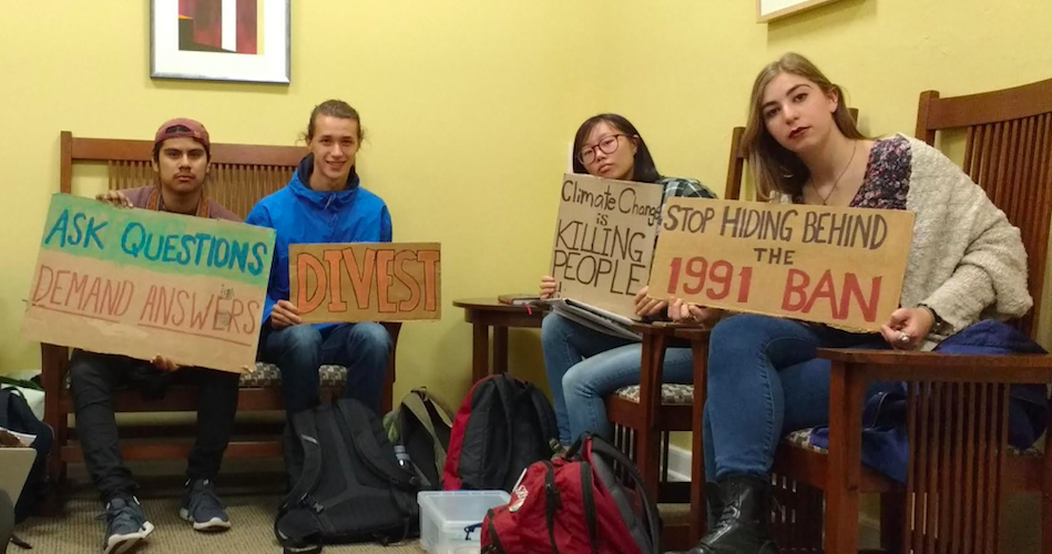 Swarthmore College students begin long sit-in at president ...