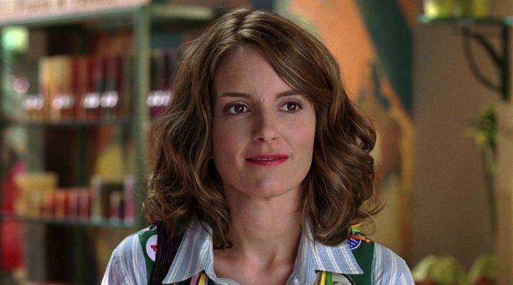 Tina Fey from Mean Girls