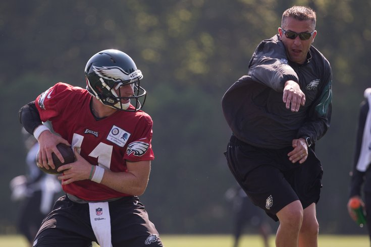 Vikings hire Eagles QB coach John DeFilippo as offensive coordinator