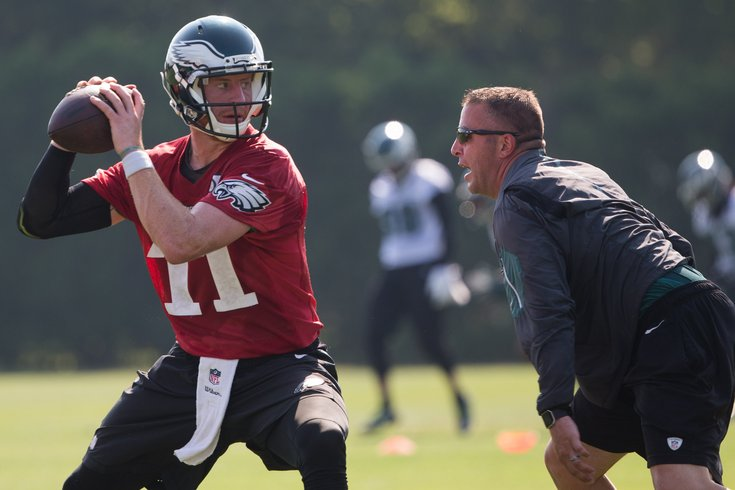 Pat Shurmur focused on Minnesota Vikings QB coach Kevin Stefanski