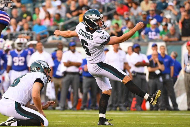 Seahawks met with free agent kicker Caleb Sturgis on Thursday