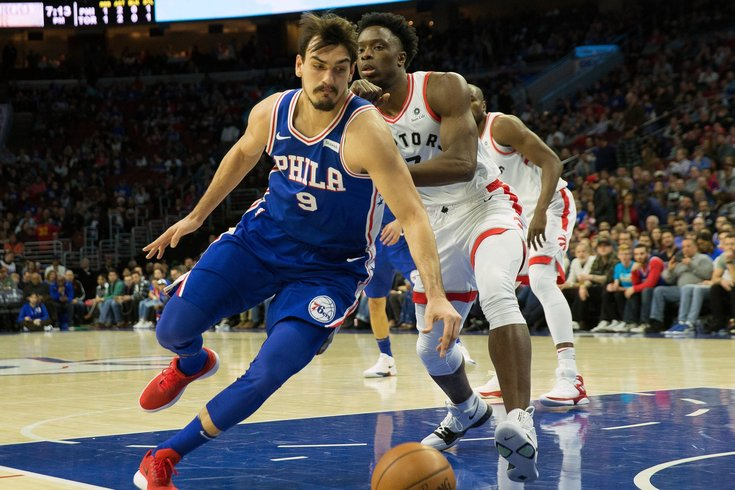 Joel Embiid (back) could miss 76ers' next two games