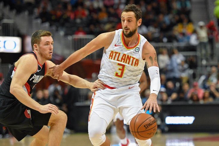 Marco Belinelli plans to signs with 76ers once he clears waivers