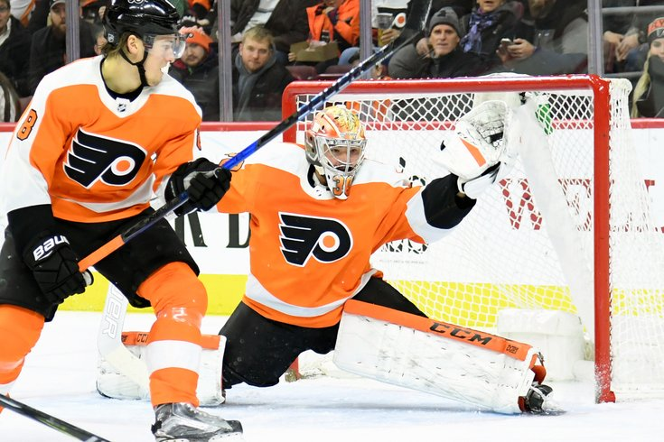 Flyers G Brian Elliott out up to 6 weeks