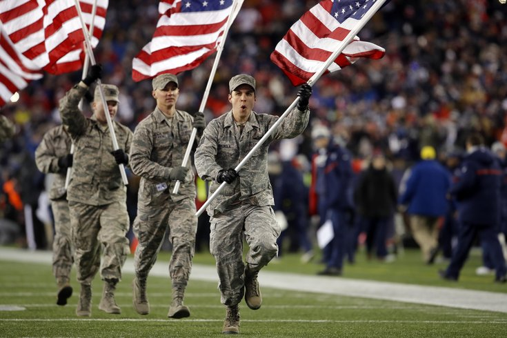 Troops with USO Center access can watch National Football League  title games