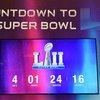 Super Bowl LII Countdown Clock