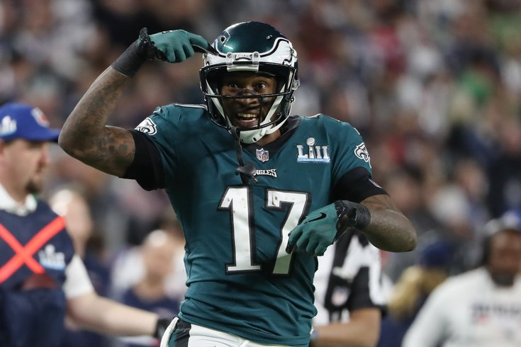 Alshon Jeffery Makes Incredible Catch For First Super Bowl LII Touchdown