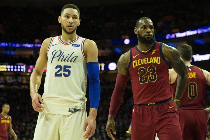 Ben Simmons Le Bron James