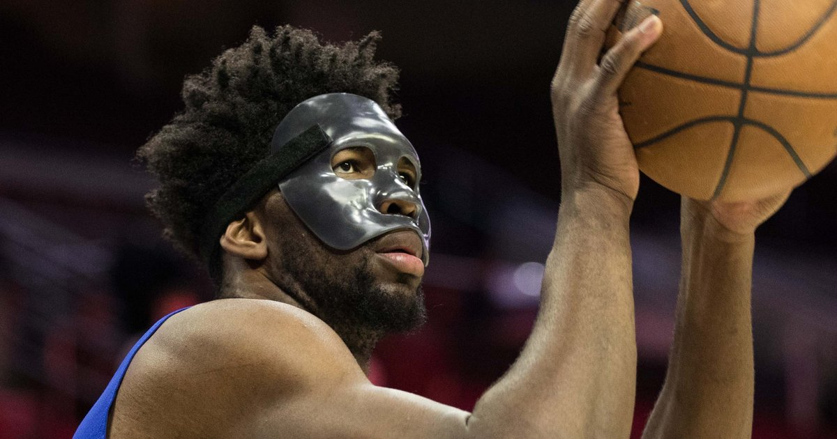 Joel Embiid provides pre-playoff injury update, won't rule ...