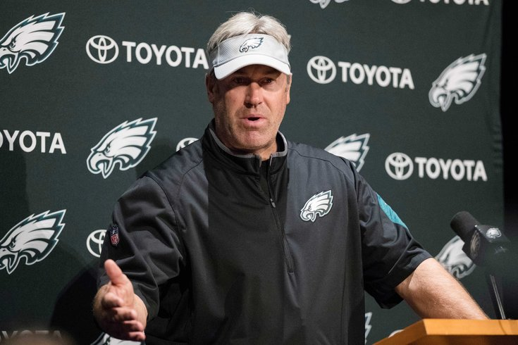 Eagles' Doug Pederson tries to move past the canceled White House celebration
