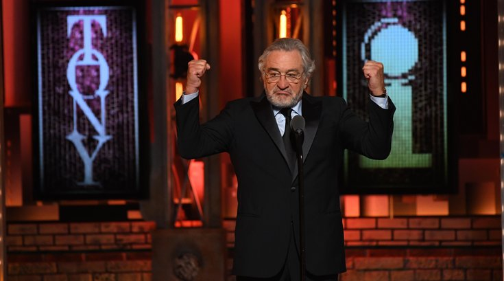 robert de niro tony awards