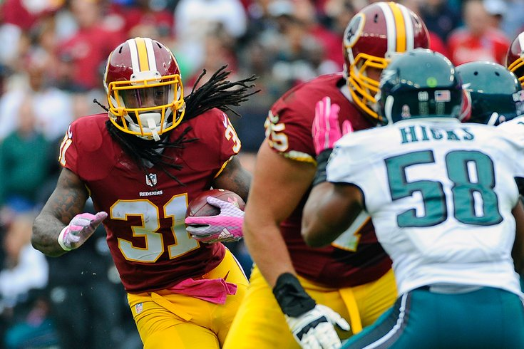 Philadelphia Eagles to sign running back Matt Jones, reports say