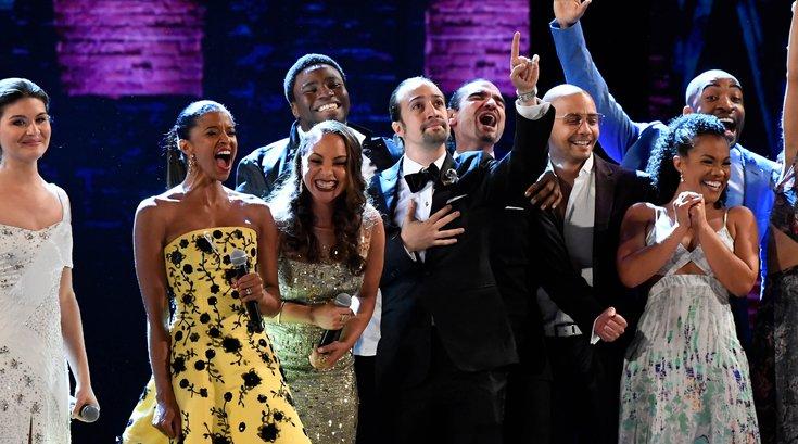 """""""Hamilton"""" cast"""