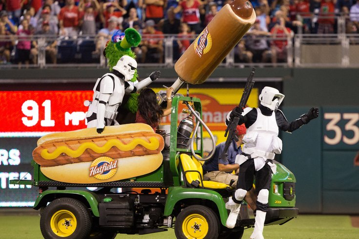 Phillies Hot Dogs