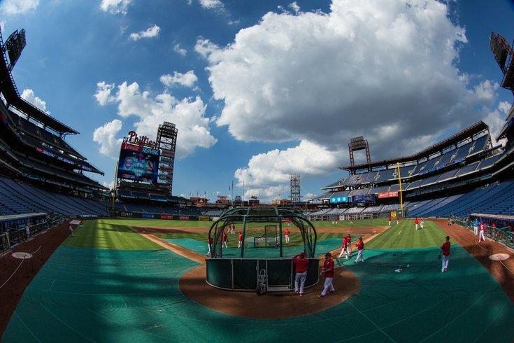 Batting Practice Phillies