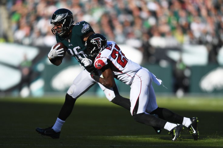 Eagles open as historic home underdogs to Falcons