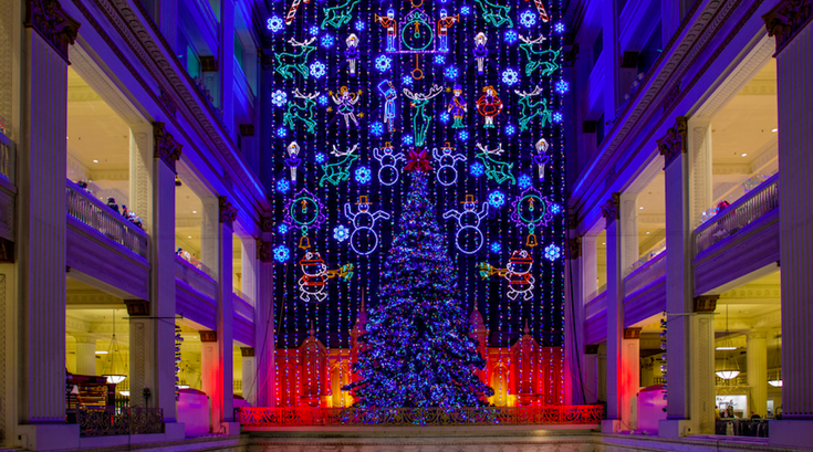 Macy's Christmas Light Show