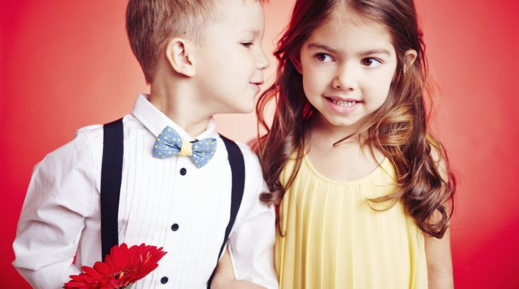 Valentine's Kids Cute
