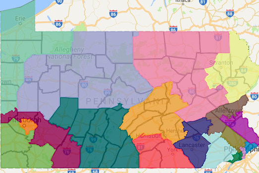 PA Redistricting Deadline Looms, Agreement Seems Unlikely