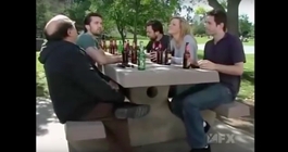 It's Always Sunny in Philadelphia drinking