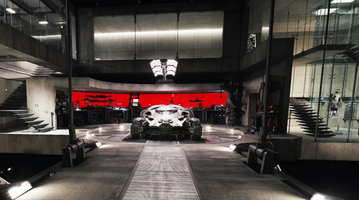 Batcave Virtual Tour