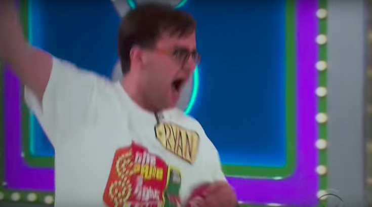 Price is Right freakout