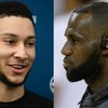 Ben Simmons LeBron James