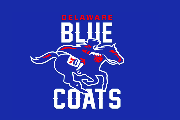 DE 87ers rebranded as the Blue Coats