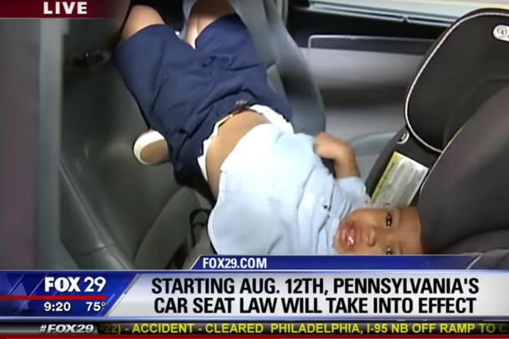 Watch Pennsylvania S New Car Seat Law Has Some Kicking