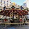 Christmas Village Carousel
