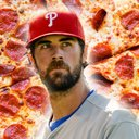 Dominono cole hamels illustration