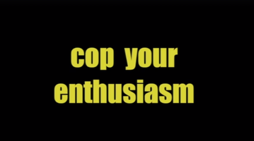 Cop Your Enthusiasm