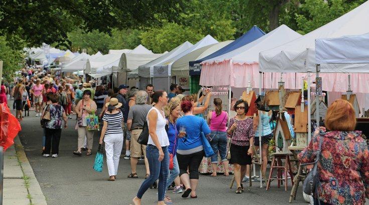 Haddonfield Crafts and Fine Arts Festival